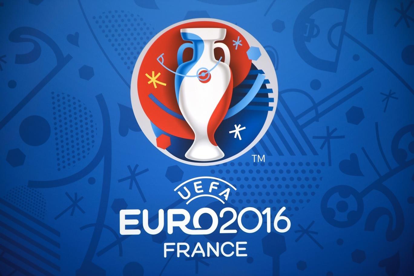Oficiālais 2016. gada Eiropas čempionāta logo.