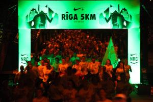 We Run Riga: 5km nakts skrējiens