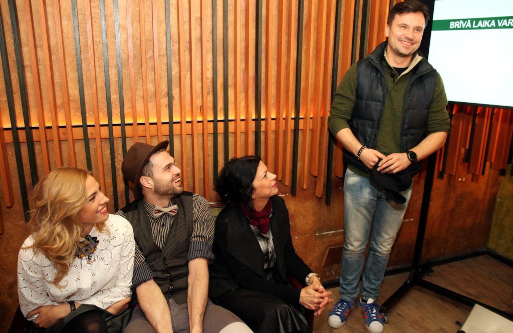 Foto:  Lelde Lietaviete, Aivis Ceriņš, Aina Poiša, Andris Bulis
